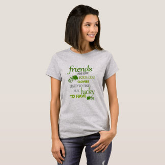 Lucky To Have Real Friends T-Shirt