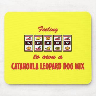Lucky to Own a Catahoula Leopard Dog Mix Mouse Mat