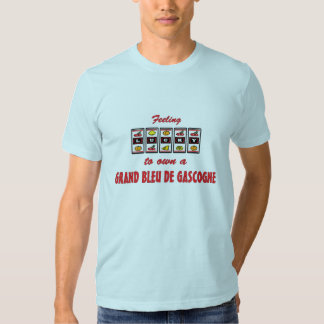 Lucky to Own a Grand Bleu de Gascogne Fun Design Shirt