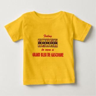 Lucky to Own a Grand Bleu de Gascogne Fun Design T-shirts