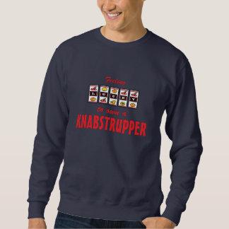 Lucky to Own a Knabstrupper Fun Horse Design Pullover Sweatshirt