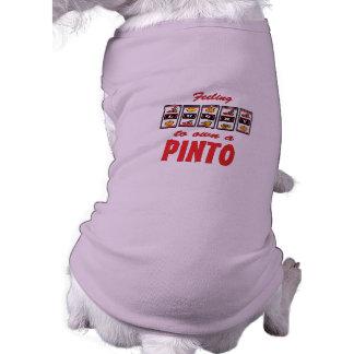 Lucky to Own a Pinto Fun Horse Design Pet Clothing