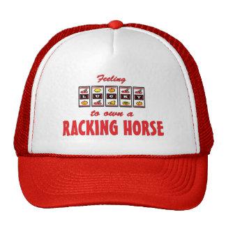 Lucky to Own a Racking Horse Fun Design Cap