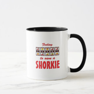 Lucky to Own a Shorkie Fun Dog Design Mug