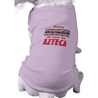 Lucky to Own an Azteca Fun Horse Design Dog Shirt