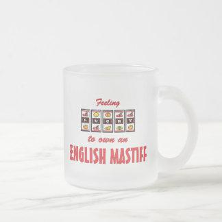 Lucky to Own an English Mastiff Fun Dog Design Mugs