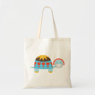 Lucky Turtle Tulip Shell Budget Tote Bag
