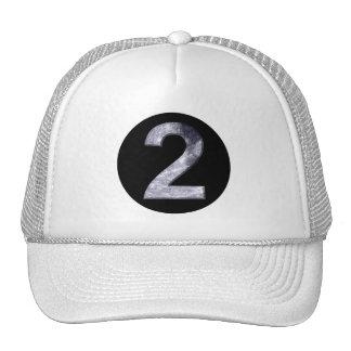 Lucky Two Lunar Magic Black Circle Crest Cap