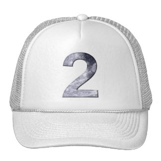 Lucky Two Lunar Symbol Numerology Power Number Cap