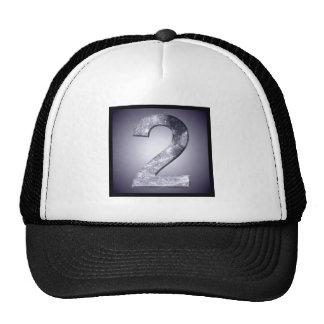 Lucky Two Lunar Symbol Square Crest Cap