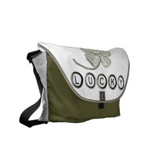 Lucky Type Bag Courier Bag