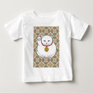Lucky White Cat Baby T-Shirt
