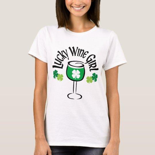 Lucky Wine Girl T-Shirt