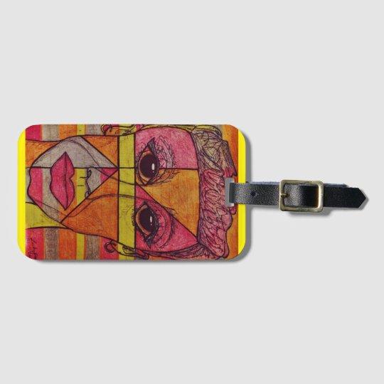 LuckyPen Art Luggage Tag