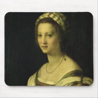 Lucrezia di Baccio del Fede, the Artist's Wife, c. Mouse Pad