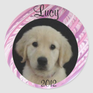 Lucy 2012 Sticker Sheet