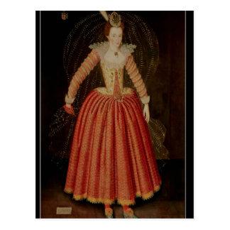 Lucy Harrington, Countess of Bedford Postcard