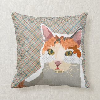 Lucy Plaid Mojo Pillow