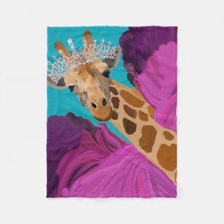 Lucy the Giraffe Blanket
