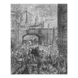 Ludgate Hill Poster
