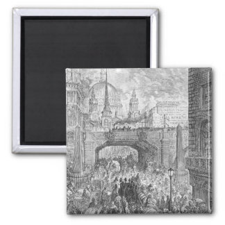 Ludgate Hill Square Magnet