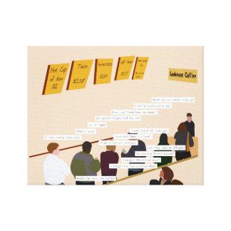 Ludicrous Cafe Canvas Print