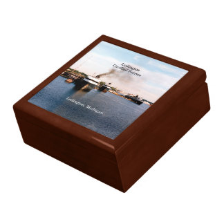 Ludington Car/Rail Ferries keepsake box