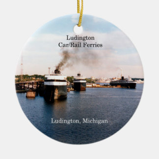 Ludington Car/Rail Ferries ornament