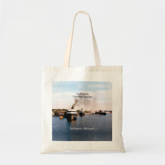 Ludington Car/Rail Ferries tote bag