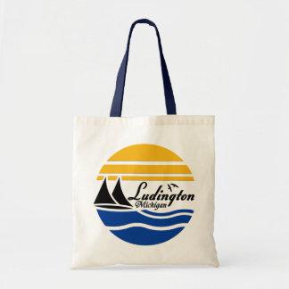 Ludington Michigan 2 Tote Bag