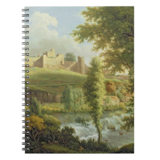 Ludlow Castle with Dinham Weir, from the South-Wes Notebooks
