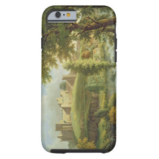 Ludlow Castle with Dinham Weir, from the South-Wes Tough iPhone 6 Case