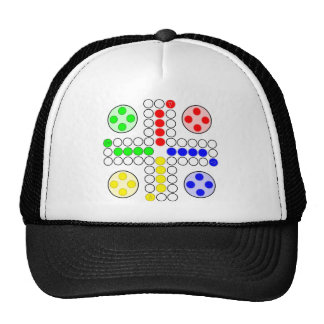 Ludo Classic Board Game Mesh Hat