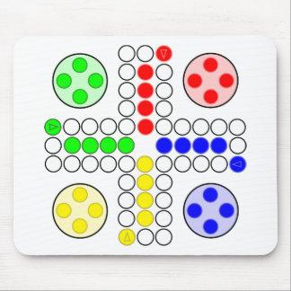 Ludo Classic Board Game Mouse Pad