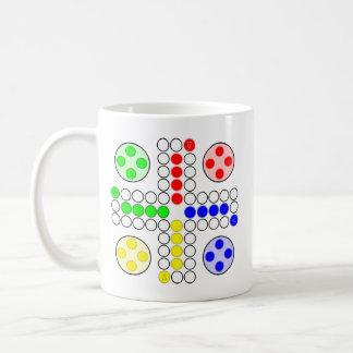 Ludo Classic Board Game Coffee Mugs