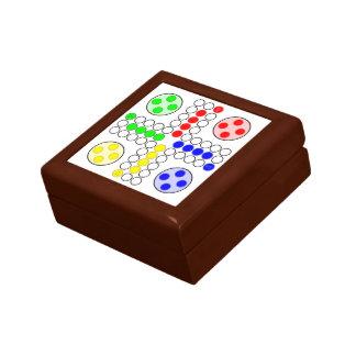 Ludo Classic Board Game Small Square Gift Box