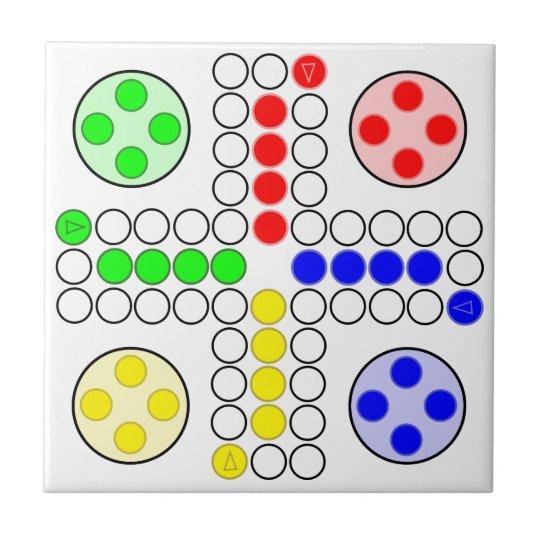 Ludo Classic Board Game Tile