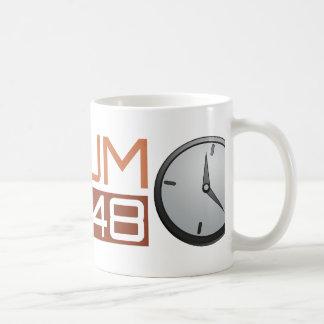 Ludum Dare Shiny Clock Basic White Mug