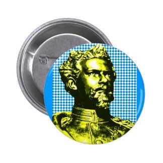 Ludwig IITH king Bavaria 6 Cm Round Badge
