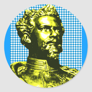 Ludwig IITH king Bavaria Round Sticker