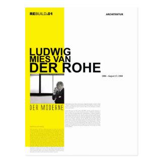Ludwig Mies Van Der Rohe Postcard