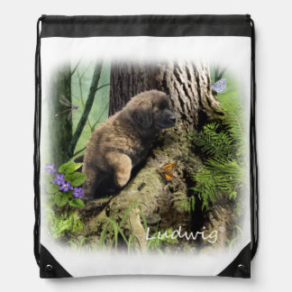 Ludwig the Leonberger Puppy Backpack