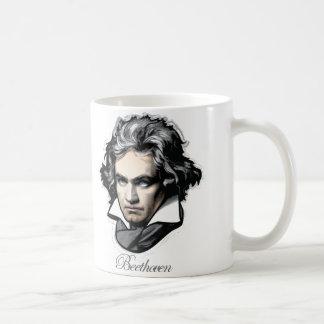 Ludwig van Beethoven Basic White Mug
