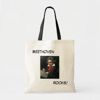 Ludwig van Beethoven Budget Tote Bag