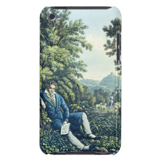 Ludwig van Beethoven by a River (coloured engravin iPod Touch Cover