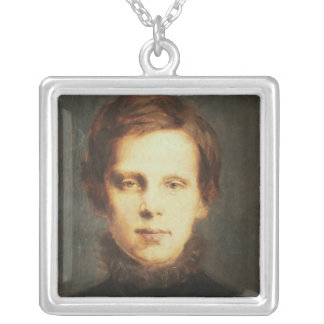 Ludwig van Beethoven , German composer Silver Plated Necklace