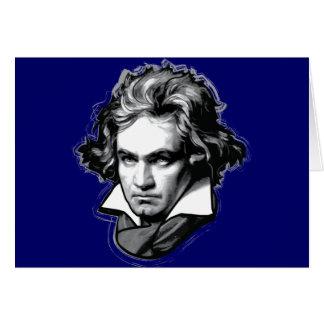 Ludwig van Beethoven Greeting Card