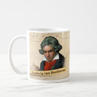 Ludwig Van Beethoven Historical Mug