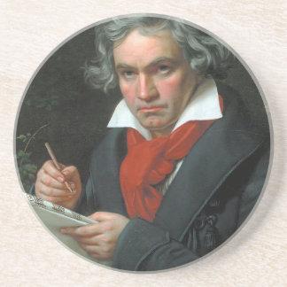 Ludwig van Beethoven Portrait Coasters