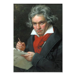 Ludwig van Beethoven Portrait Announcement